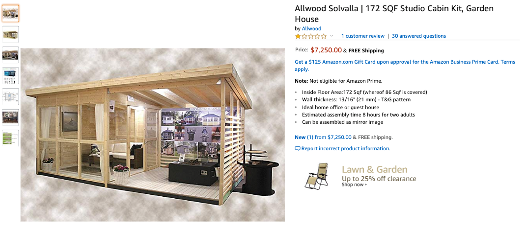 ce03c53b48414 Tiny-Home Craze Spreads To Amazon, You Can Now Buy This $24k Solar ...