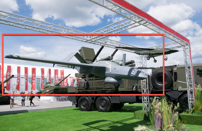 Russia Unveils New Military Drones At Army Forum | Zero Hedge