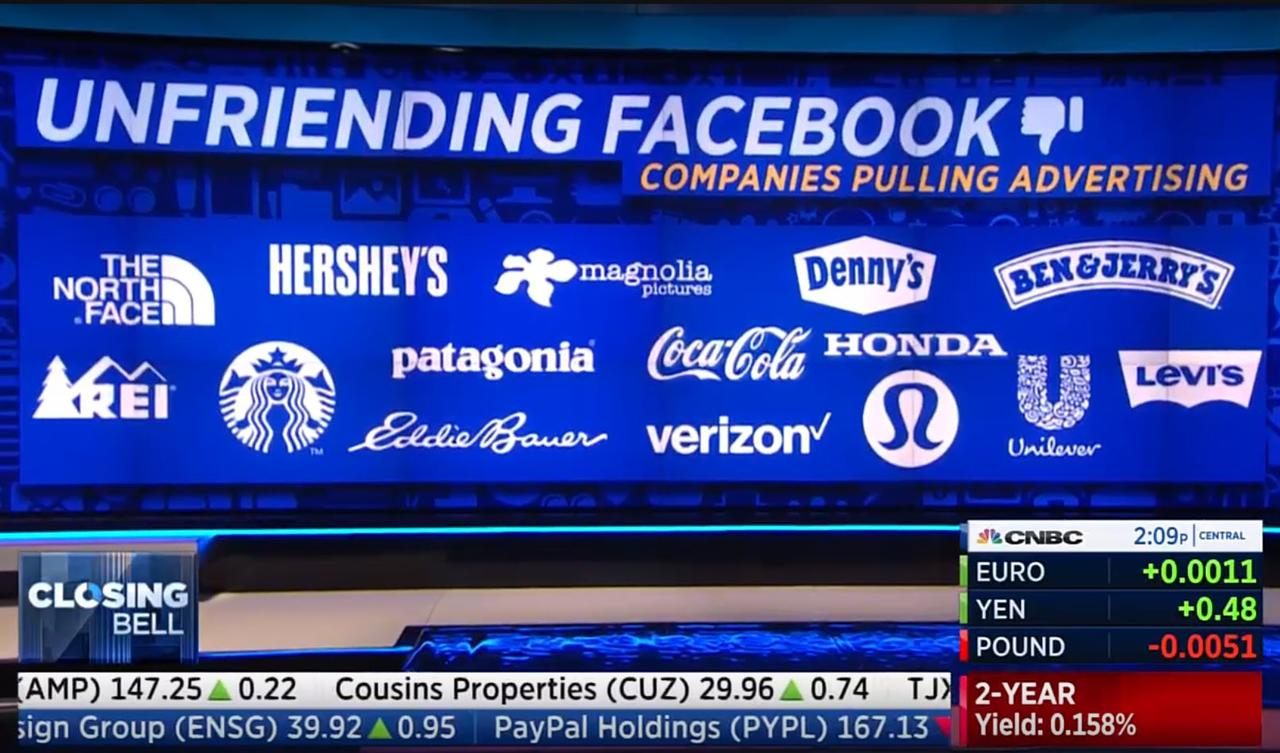 Adidas Reebok Ford Hp Microsoft Pause Advertisements With Facebook As Boycott Builds Phil S Stock World