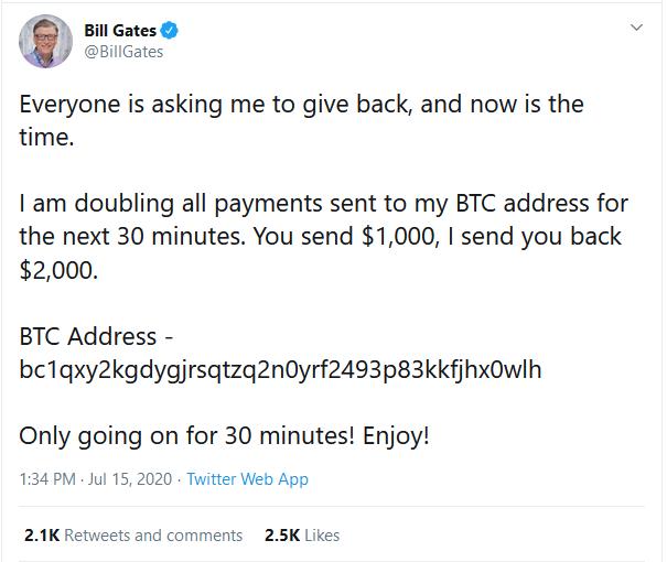 News Burst 16 July 2020 - Bill Gates Hacked