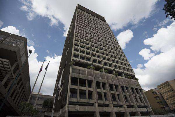 The Central Bank Of Venezuela Stands In Caracas