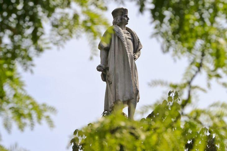 Statue of Christopher Columbus - Columbus Day
