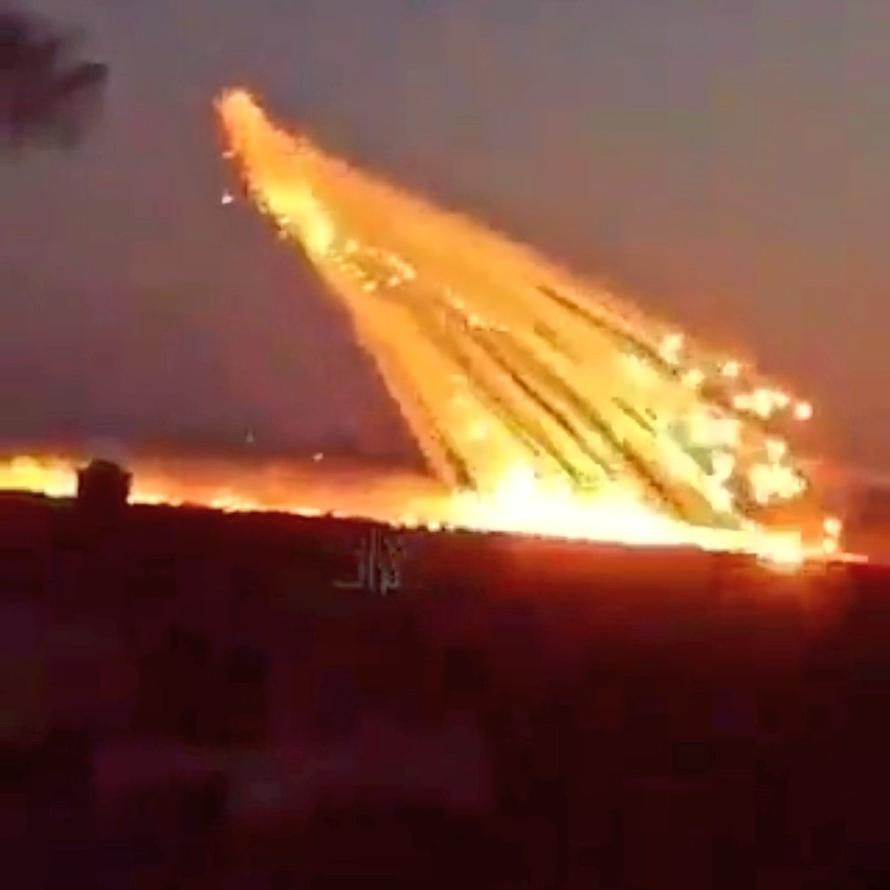 Watch: US Drops Banned White Phosphorous On ISIS In East