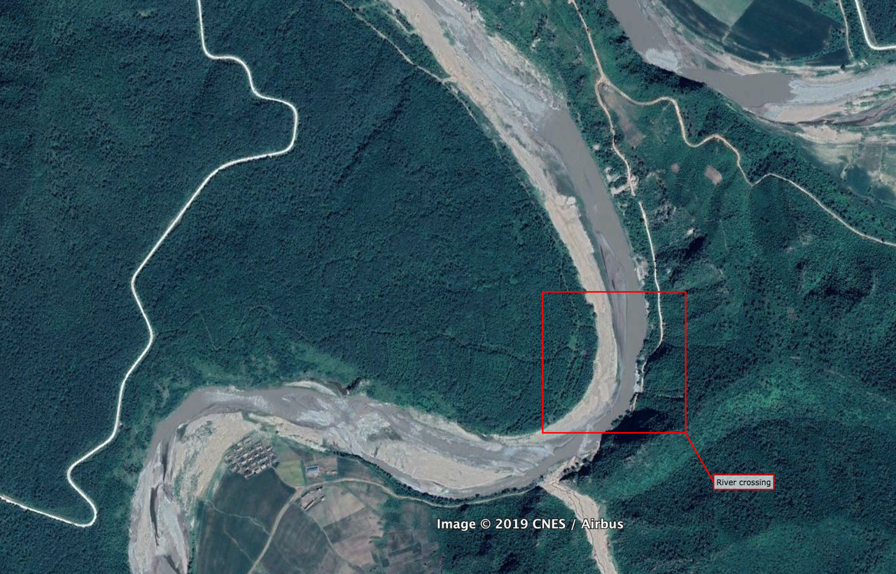 Satellite Footage Exposes Smuggling On North Korean Border