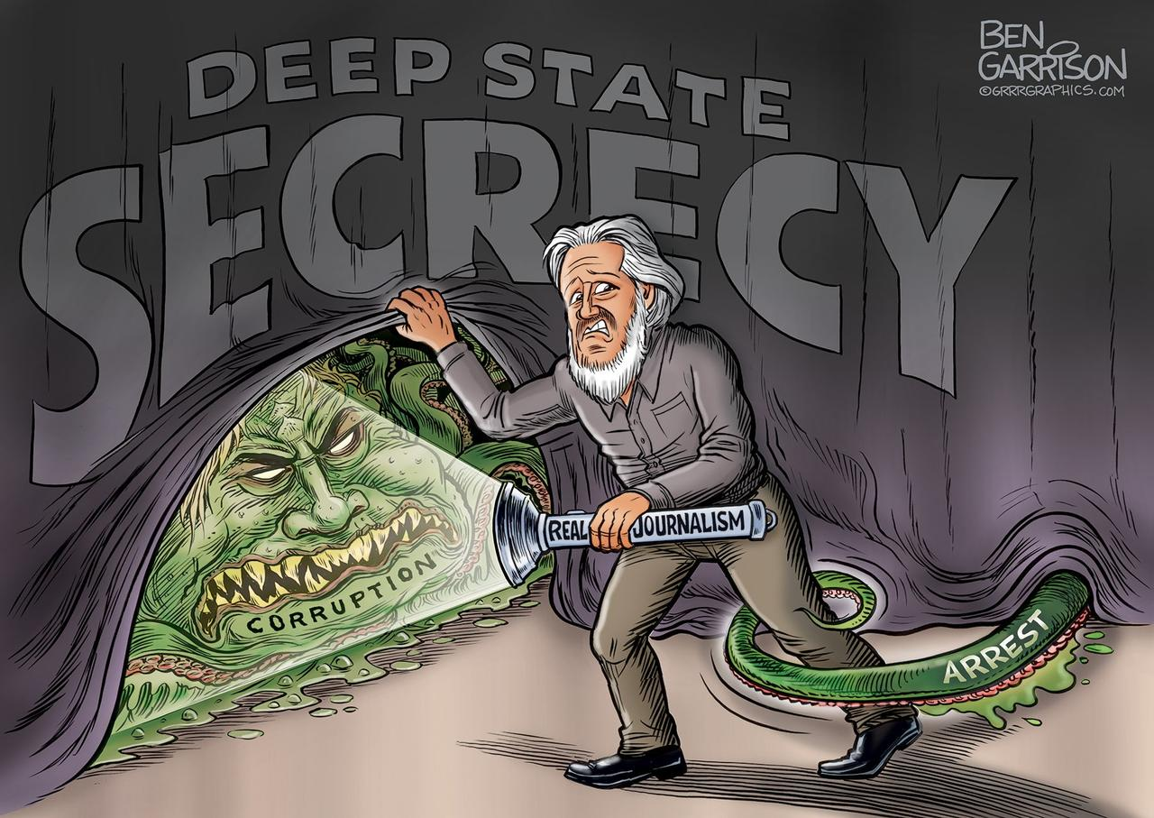 Julian Assange Is Guilty Of Only One Thing: Revealing The Evil Soul Of US  Imperialism | Zero Hedge