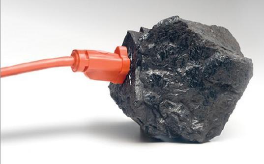 coal powering the grid