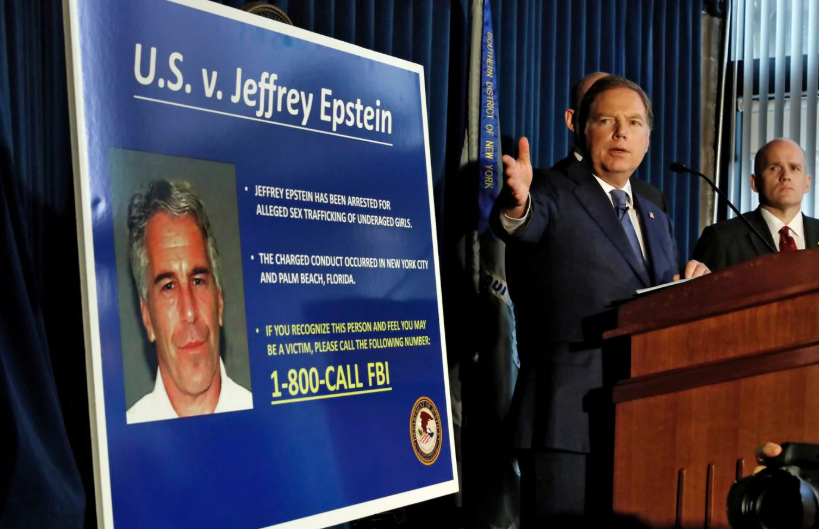 Someone At Morgan Stanley Kept Giving Epstein's Foundation