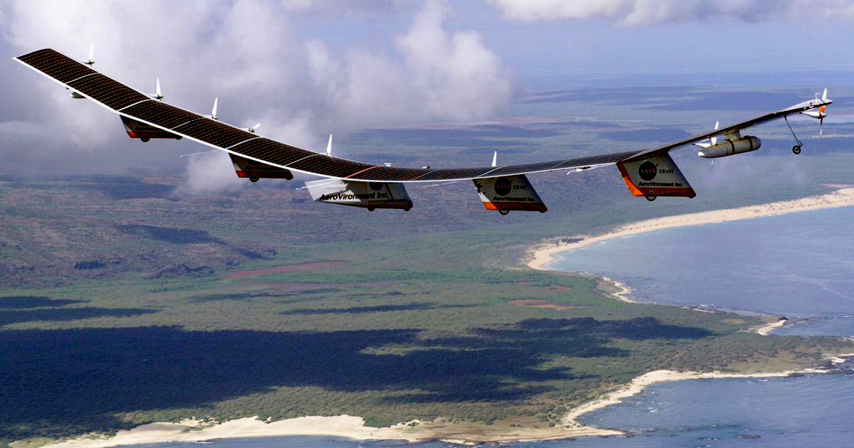 NASA Is About To Test A Solar-Powered Drone That Broadcasts 5G