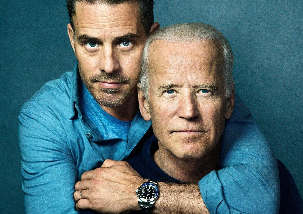 Hunter Biden Pictures of Himself Disrobed and Exposed With
