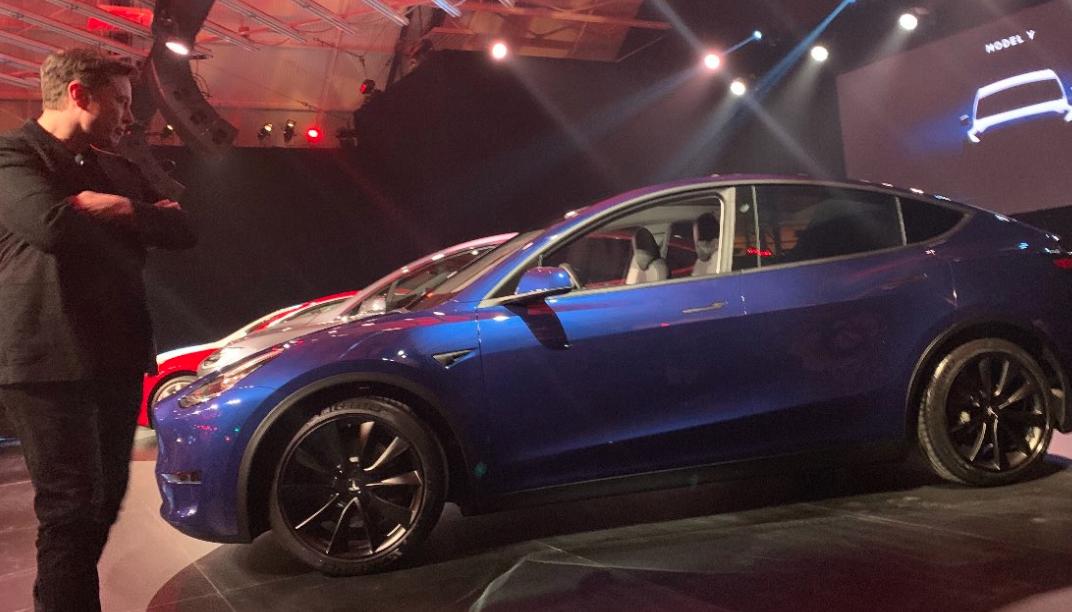 Tesla Introduces Model Y That Looks Suspiciously Like Model