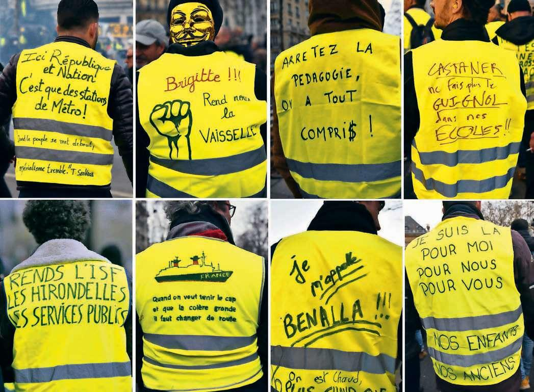 Yellow Vests A Torrent Of Hope Cannot Be Stopped By Police Blocks