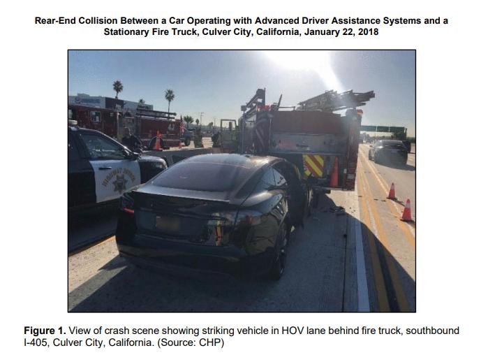 NTSB Finds 2018 Tesla Crash Due To