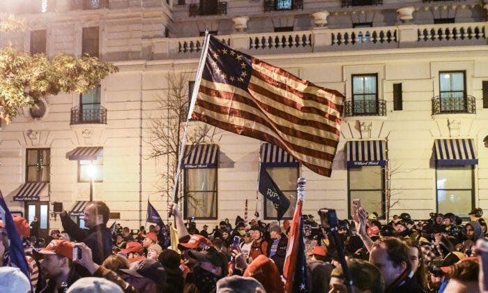 Nationalgarde wird aktiviert, um die Polizei bei den Pro-Trump-Protesten zu unterstützen (es werden mehrer Millionen erwartet)