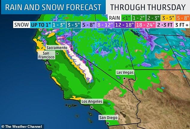 Really Big Storms Start Out Slow And >> California Braces For The Next Big Storm Zero Hedge