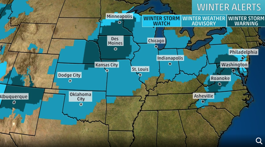 More Than 200 Million In Path Of Major Winter Storm Sweeping
